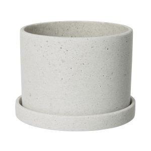 Granit Ruukku / Alusta Polystone Keskikokoinen Valkoinen