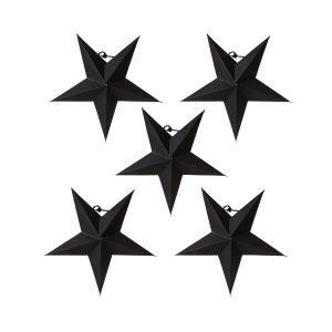 Granit Tähti Mini Musta 5-Pakkaus