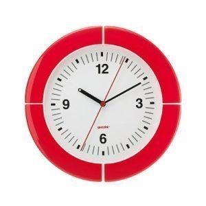 Guzzini I Clock Seinäkello Punainen