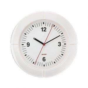 Guzzini I Clock Seinäkello Valkoinen