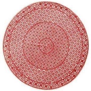 Halens Joulukuusen matto Punainen