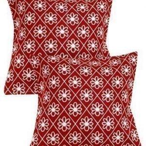 Halens Tyynynpäällinen 2-Pakkaus Punainen