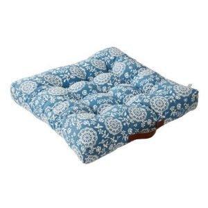 Hallabro Istuintyyny 70x70 Cm Sininen / Kukallinen