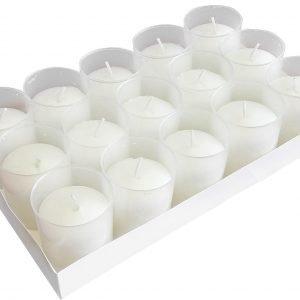 Hansa Candle Lyhtykynttilä Pieni Valkoinen 15 Kpl / Pkt