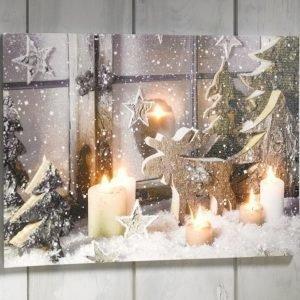 Heitronic Jouluaiheinen Taulu Monivärinen