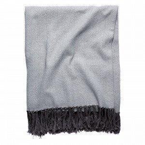 Hemtex Adam Blanket Viltti Tummanharmaa 130x170 Cm