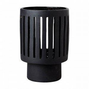 Hemtex Akio Lantern Lyhty Iso Musta