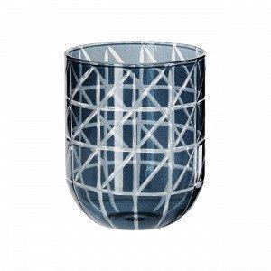 Hemtex Aletta Tealight Cup Kynttilälyhty Harmaansininen 8x8 Cm