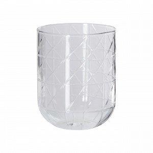 Hemtex Aletta Tealight Cup Kynttilälyhty Lasinkirkas 8x8 Cm