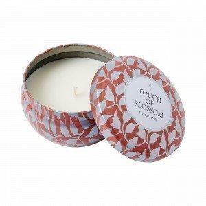 Hemtex Aline Candle Kynttilä Englanninpunainen 9x9 Cm