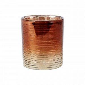Hemtex Alyss Tealight Cup Kynttilälyhty Kulta 7x7 Cm