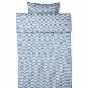 Hemtex Arild Pussilakanasetti Sininen 150x210 Cm