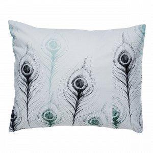 Hemtex Bellamy Pillowcase Tyynyliina Monivärivihreä 60x50 Cm