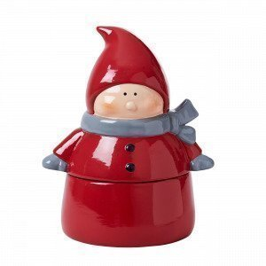 Hemtex Big Santa Kannellinen Kulho Joulunpunainen