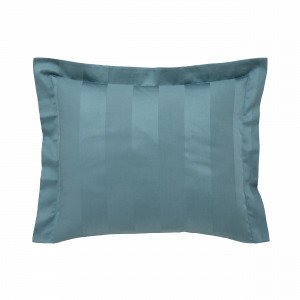 Hemtex Birgitta Pillowcase Tyynyliina Tummanturkoosi 60x50 Cm