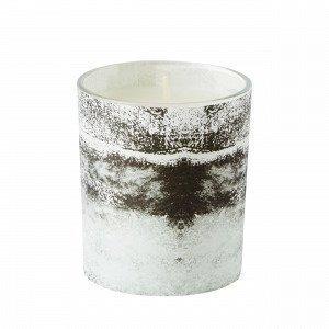 Hemtex Blaze Candle In Cup Kynttilä Harmaa 7x7 Cm