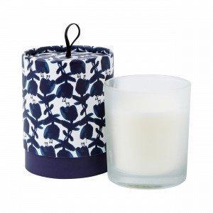 Hemtex Bluebelle Scented Candle Round Box Tuoksukynttilä Sininen 8x8 Cm
