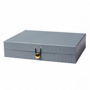 Hemtex Bobo Säilytyslaatikko Sininen 23x31 Cm
