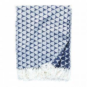 Hemtex Bohus Blanket Viltti Monivärisininen 130x170 Cm