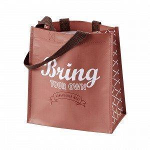 Hemtex Bring Lunch Bag Eväslaukku Englanninpunainen 13x24 Cm