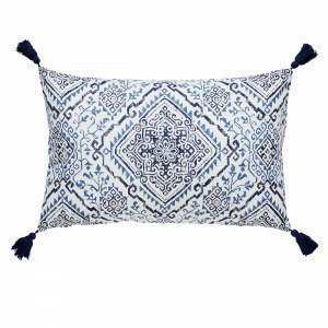 Hemtex Carmen Koristetyyny Sininen 45x70 Cm
