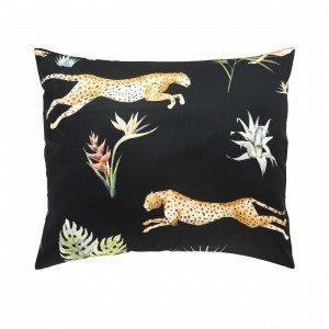 Hemtex Chasse Pillowcase Tyynyliina Musta 60x50 Cm