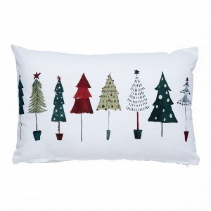Hemtex Christmas Tree Cushion Koristetyyny Multi 40x60 Cm