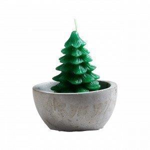 Hemtex Christmas Tree In Pot Kynttilä Valkoinen