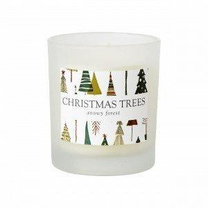 Hemtex Christmas Trees Tuoksukynttilä Multi 7x7 Cm