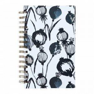 Hemtex Cloe Notebook W Spiral Muistikirja Monivärivalkoinen 15x21 Cm