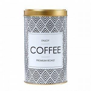Hemtex Coffee Peltipurkki Valkoinen 10x10 Cm