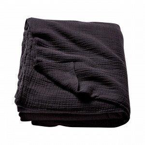 Hemtex Crinkle Bedspread Päiväpeitto Ruskea 180x260 Cm