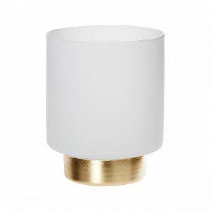 Hemtex Elegance Tealigh Cup Kynttilälyhty Valkoinen 9x9 Cm