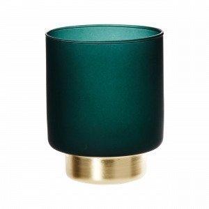 Hemtex Elegance Tealigh Cup Kynttilälyhty Vihreä 9x9 Cm