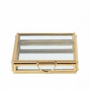 Hemtex Etty Säilytyslaatikko Kulta 10x10 Cm