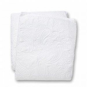 Hemtex Eva-Lotte Päiväpeitto Parisänkyyn Valkoinen 260x250 Cm