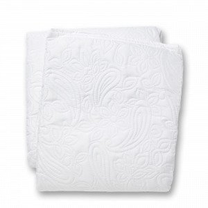 Hemtex Eva-Lotte Päiväpeitto Valkoinen 180x250 Cm