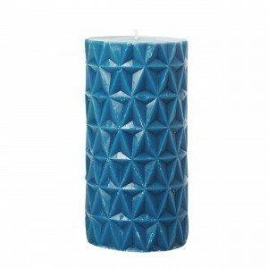 Hemtex Fasett Kynttilä Sinivihreä 6.5x6.5 Cm