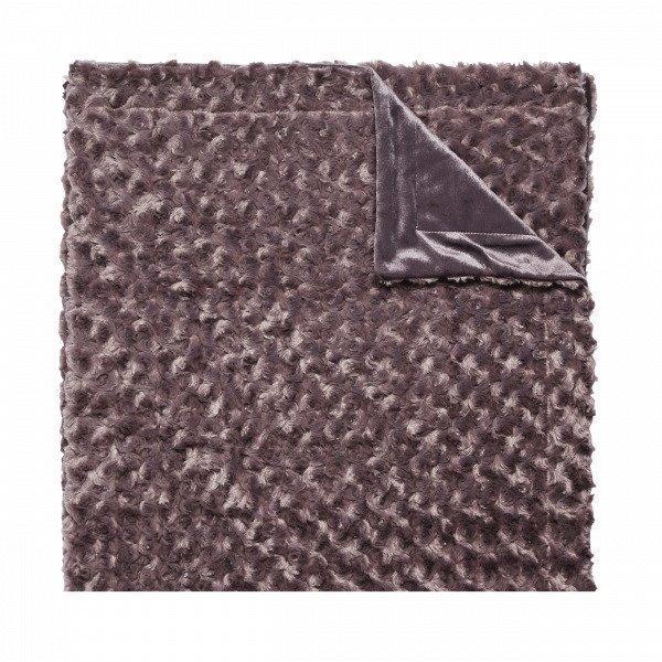 Hemtex Gosa Fleecehuopa Tummanvihreä 130x170 Cm