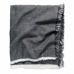 Hemtex Ines Päiväpeitto Tummanharmaa 170x150 Cm