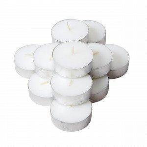 Hemtex Isot Lämpökynttilät 12-Pakkaus Valkoinen