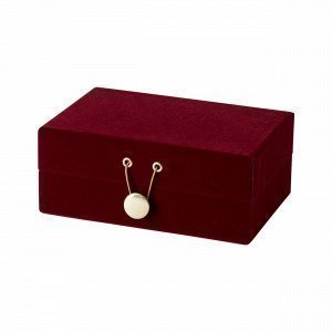 Hemtex Joline Jewelry Box Korurasia Viininpunainen