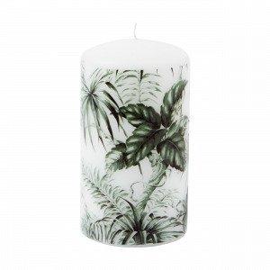 Hemtex Kampala Pillar Candle Kynttilä Vihreä