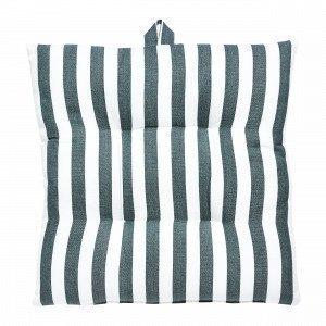 Hemtex Lea Stripe Istuintyyny Vihreä 40x40 Cm