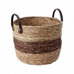 Hemtex Liviu Medium Basket Säilytyskori Ruskea 31x31 Cm