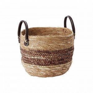 Hemtex Liviu Small Basket Säilytyskori Ruskea 26x26 Cm