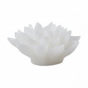 Hemtex Lotus Led Candle Led Kynttilä Valkoinen 12x12 Cm