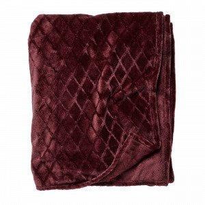 Hemtex Lucky Blanket Viltti Antiikinsininen 130x170 Cm
