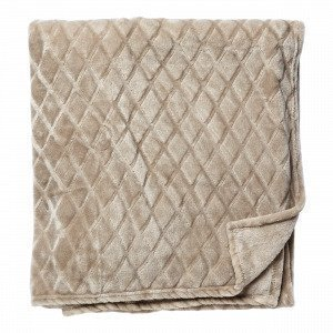 Hemtex Lucky Blanket Viltti Beige 130x170 Cm