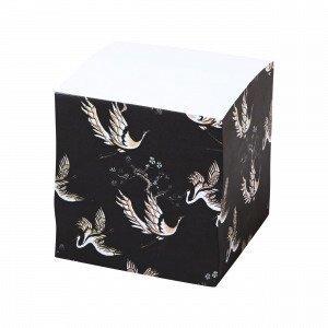 Hemtex Meiko Memo Cube Muistilappukuutio Grafiitti